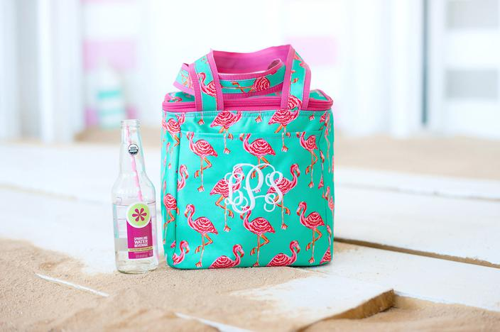 Sand Hopper Cooler Tote Dual Zipper Closure Easy-to-Carry Handles