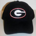 This is an embroidered Georgia G.  You can add your name on GO DAWGS to the back of the hat for only $10.00