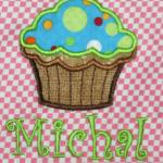 Applique Cupcake 1