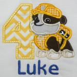 Add $2.00 if you want an applique number. FFBH