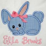 Add a bow to this applique for only $1.00.