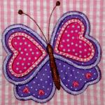 Add a name of your choice to this applique
