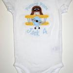 Add    Future Pilot    for an add'l $4.00 to this adorable applique