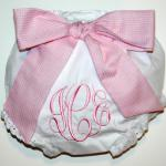 Add $6.00 for this big FABRIC bow which is detachable for washing.