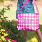 HOT PINK GINGHAM CHECK