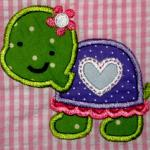 Add the name of your choice to this applique