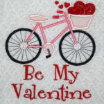 Included in the design is either your choice of name or Be My Valentine