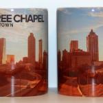 This is the front and back wrap around design done for Free Chapel Midtown Church in Atlanta, GA.