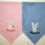 Bandanas for Mollie & Marley (the two best dressed dogs/humans ever)